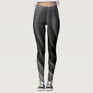 GreyCurve#1 Leggings