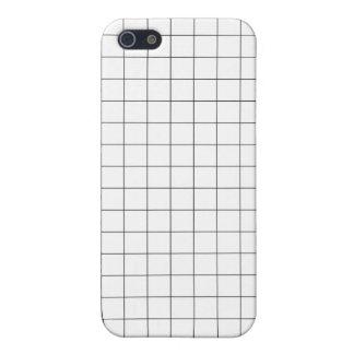 Grid imprime iPhone le cas Étuis iPhone 5