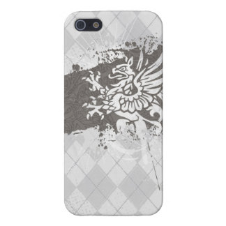 Griffon à motifs de losanges iPhone 5 case
