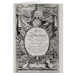 Griffon de Rene Robert Cavelier De La Salle Carte De Vœux
