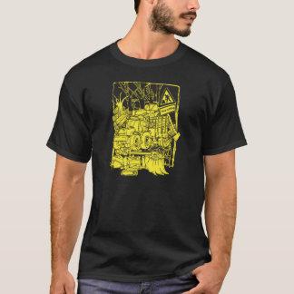 Griffonnage de sylviculture t-shirt