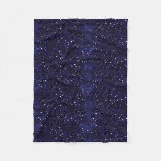 Grille étoilée de ciel nocturne couverture polaire
