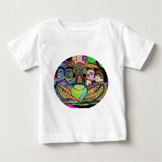 Grille Ovel - art de plaisir de fierté T-shirt Pour Bébé