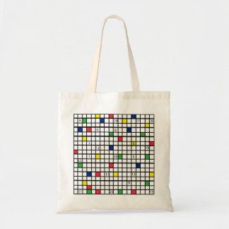 Grille Tote Bag