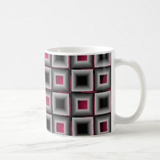 Gris moderne de vin de Wildness d'art op de Mug