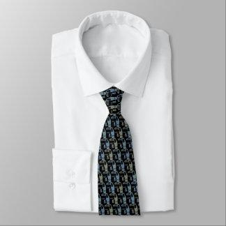 Gris noir d'Armani de cravate de toucans