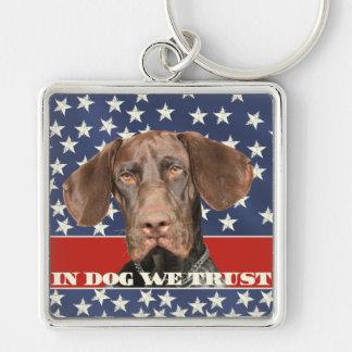 Grizzly4President, chez le chien nous faisons Porte-clés