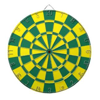 Groen en Geel Dartbord