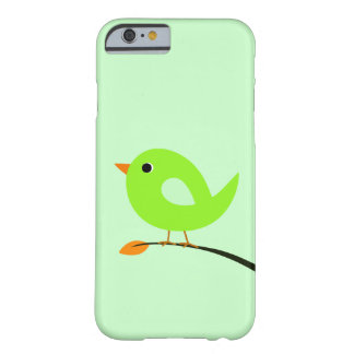 Groene Vogel op Tak Barely There iPhone 6 Hoesje
