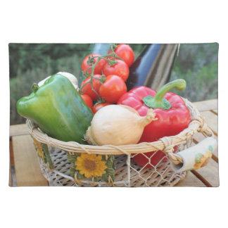 groenten placemat