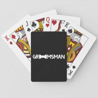 Groomsman Speelkaarten