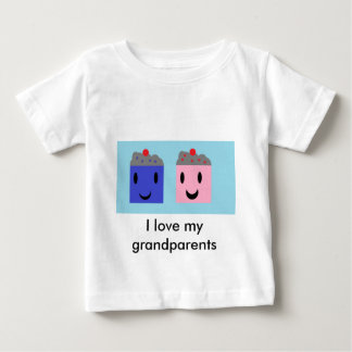 Grootouder Cupcakes Baby T Shirts