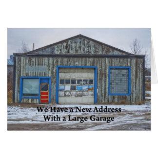 Grote Garage - Grappige Adreswijziging Kaart