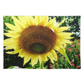 Grote gele Zonnebloem Onderlegger