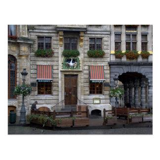 Grote Plaats, Brussel Wens Kaart