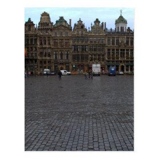 Grote Plaats, Brussel Briefkaart
