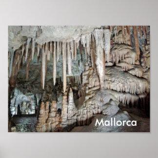 grottes de Majorque, poster
