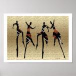 Groupe africain de danse affiches