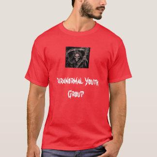 Groupe de jeunes paranormal t-shirt