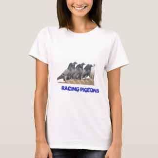 Groupe de pigeons voyageur t-shirt