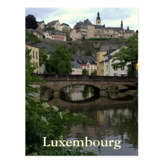 Grund, Luxembourg Carte Postale