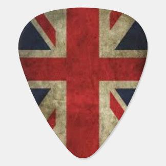 Grunge d'Union Jack Onglet De Guitare
