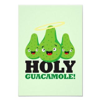 Guacamole saint ! Invitations de partie de Cinco