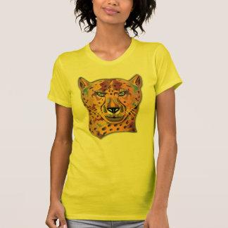 Guépard coloré t-shirt