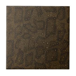 Guépard de poster de animal petit carreau carré