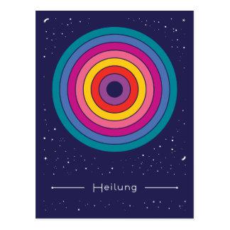 Guérison Carte Postale