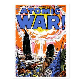 Guerre atomique ! Carte postale #1