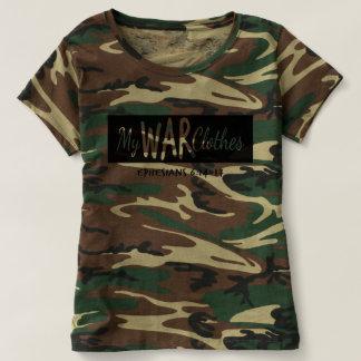 Guerre de T-shirt de Camo Ephesians 6