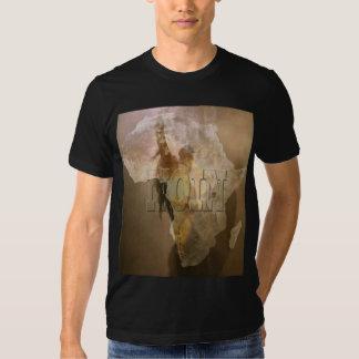 Guerrier de zoulou tee shirt