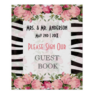 Guestbook floral