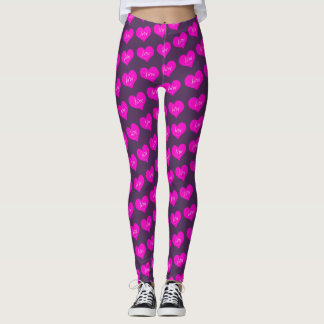 Guêtres d'amour leggings