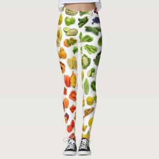 GUÊTRES de fruits et légumes - COOL SUPERBE Leggings