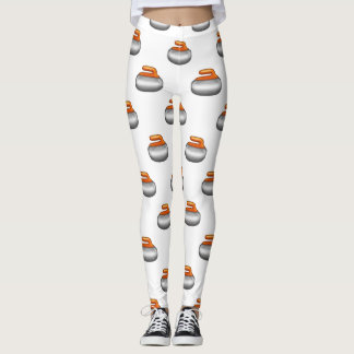 Guêtres en pierre de bordage d'Emoji Leggings