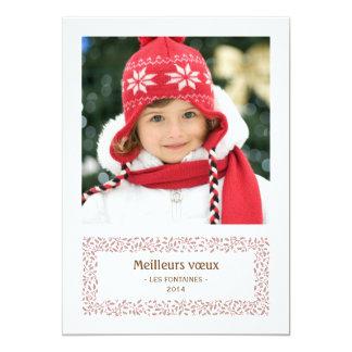 gui de Noël carte de photo de vacances Kaart