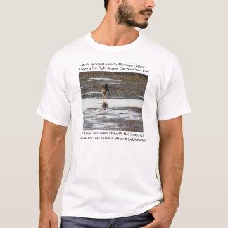 Guide de survie des hommes de mariage t-shirt