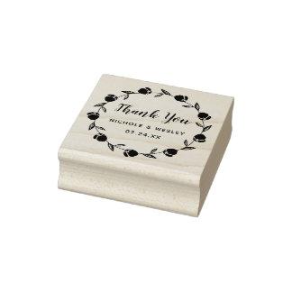 Guirlande assez florale | timbre de 2 pouces