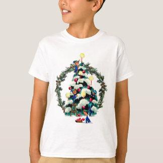GUIRLANDE d'ELFES, d'ARBRE et de SAPIN par SHARON T-shirt