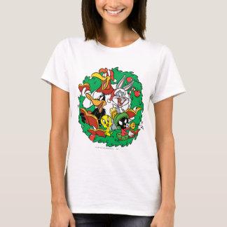 Guirlande LOONEY de Noël de groupe de TUNES™ T-shirt