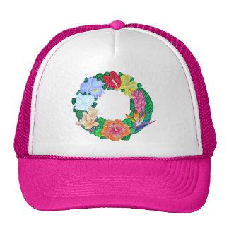 Guirlande tropicale casquettes de camionneur