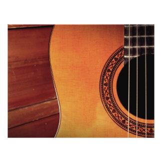 Guitare acoustique prospectus 21,6 cm x 24,94 cm