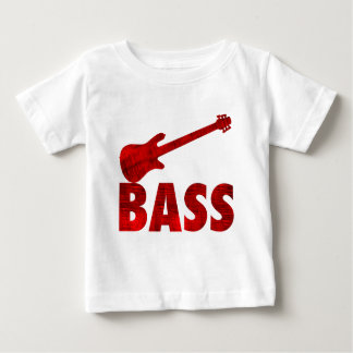 Guitare basse t-shirt pour bébé