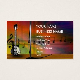 Guitare - carte d'industrie musicale