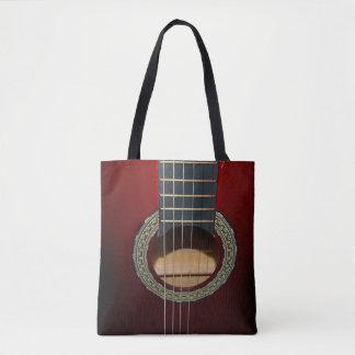 Guitare classique de Brown, plein sac à provisions