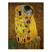 Gustav Klimt de Kus Wenskaart