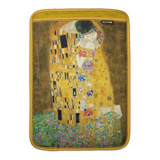 Gustav Klimt la peinture vintage de Nouveau d'art Poches Macbook Air
