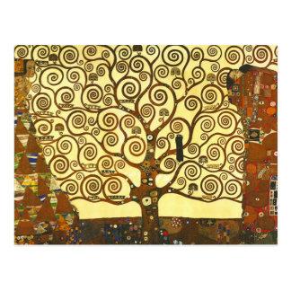 Gustav Klimt Tree van het Briefkaart van het Leven